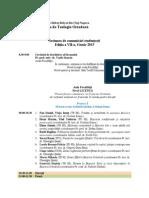 Program Sesiune v5