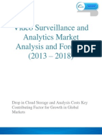 Video Surveillance and Analytics Market is Expected to Cross $ 20 Billion By 2019.
