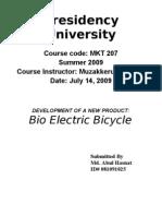 Bio Electric Bicycle