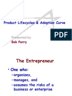 Product Lifecycles & Adoption Curve