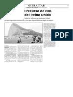 150727 La Verdad- Denegado El Recurso de OHL Al Supremo Del Reino Unido