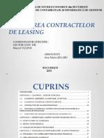 Fraudarea contractelor de leasing