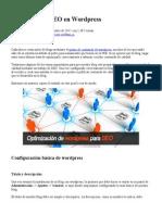 Optimizacion SEO en Wordpress