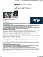 [US, Cuba Restore Diplomatic Relations] - [VOA - Voice of America English News]