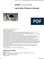 [Smart Toilet Prevents Water Pollution in Disaster Areas] - [VOA - Voice of America English News]