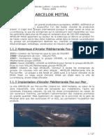 Dossier Arcelor Bobineuse