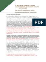 Mensaje Vocaciones Papa Francisco 2015.doc