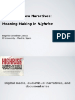 I-Docs and New Narratives- Meaning Making in Highrise