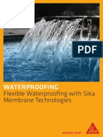 Flexible Waterproofing With Sika Membrane Technologies-SML