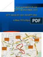 Kl City Grand Prix 2015 Traffic Management