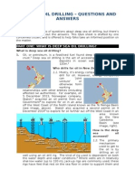 Question and Answer Sheet_Deep Sea Oil Drilling_jan2015