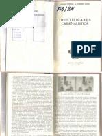 Identificarea Criminal is Tic A - Dumitru Sandu