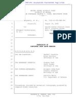 Montgomery v eTreppid #834 | 8/19 OSC Hearing Transcript