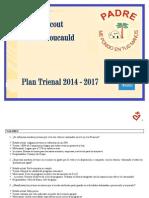 Plan Trienal Grupo Foucauld 2014-2017