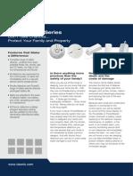 Visonic SMD-427-PG2 Data Sheet