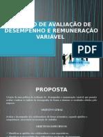 Projeto de desenvolvimento de Remuneração Variável
