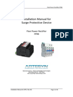 FPRB Installation Manual for SPD Rev AC