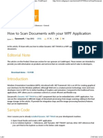 How to Scan Documents With Your WPF Application - CodeProject