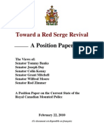 Liberal senators assess the RCMP