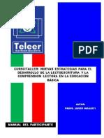Guia Del Participante Ct Nuevas Estrategias Lectoescritura y Cl Edu Basica Teleertv Fjir 2015