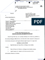 Eight Mile Style, LLC et al v. Apple Computer, Incorporated - Document No. 1