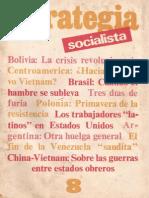1983-05-Xx - Estrategia Socialista Nº 8