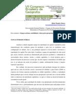 Entre o Publico e o Privado Praticas Espaciais e Os Deslocamentos Cotidianos Rmmares Anais 1404478031 Arquivo Cbg2014