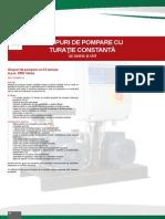 Fisa Tehnica _ Grup Pompare SAIL