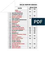 Nilai Bahasa Inggris Ipa 3