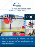 Healthcare 3D Printing Market to Grow at CAGR of 18.3% by 2020