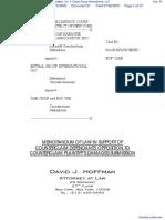 North American Karaoke-Works Trade Association, Inc. v. Entral Group International, LLC - Document No. 51