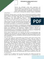 Modelo Nr 26 Programa de Sinalização