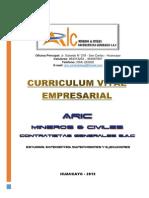 Curriculum Aric Mineros & Civiles