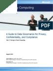 Data Governance - Moving to Cloud Computing