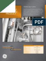 MS5001PA Gas Turbine Fact Sheet