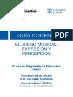 510015 El Juego Musical. Expresión y Percepción