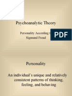 Psychoanalytic Theory - Freud.ppt