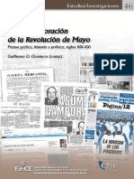 Quinteros. La Conmemoración de La Revolución de Mayo