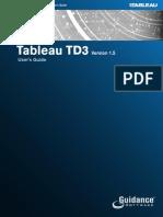Tableau TD3 Version 1.5 User's Guide.pdf