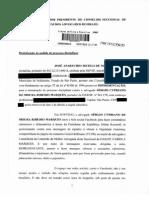 Representação à OAB-SP de José Matos contra Sérgio Cypriano de Moura Ribeiro Marques.pdf