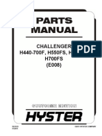 Manual Partes hyster