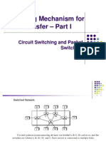 Lecture on switching mechanism for data transfer