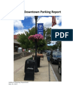 Amherst Downtown Parking Report