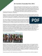 10 Bicis De Fondo De Carretera Avanzadas Para 2015.