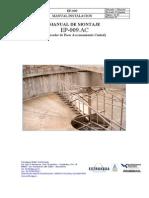 Manual de Montage Sistema Espesamiento de Lodos