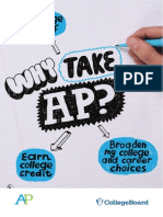 why take ap - brochure