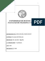 Programa Economia de Educacion