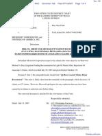 Anascape, Ltd v. Microsoft Corp. et al - Document No. 128