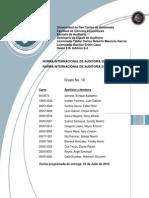 TI 2 Norma Internacional de Auditoria 200 y 210 NIA 200 Y 210-1
