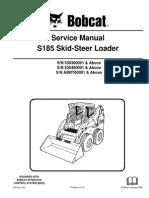 Bobcat s175 s185 Service Manual Skidsteer Loader